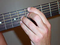 Guitar Chord A+7 Voicing 2