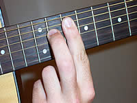 Guitar Chord A+7 Voicing 4