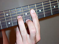 Guitar Chord A+7b9 Voicing 3