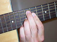 Guitar Chord A+7b9 Voicing 5