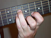 Guitar Chord A+7#9 Voicing 4