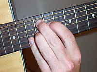 Guitar Chord A+7#9 Voicing 5