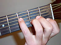 Guitar Chord A+ Voicing 1