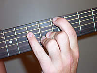 Guitar Chord A+ Voicing 2
