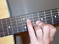 Guitar Chord A+ Voicing 3