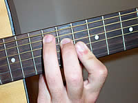 Guitar Chord A+ Voicing 4