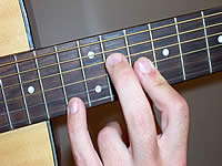 Guitar Chord A+ Voicing 5