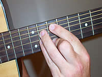 Guitar Chord A13 Voicing 4