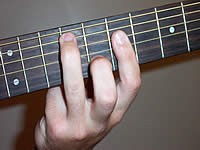 Guitar Chord A13sus4 Voicing 3