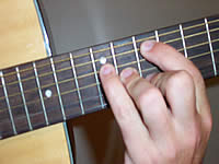 Guitar Chord A13sus4 Voicing 4