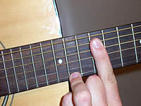 Guitar Chord A13sus4 Voicing 5