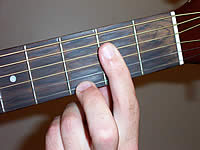Guitar Chord A7 Voicing 1