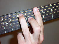 Guitar Chord A7 Voicing 2