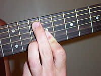 Guitar Chord A7 Voicing 4