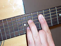 Guitar Chord A7 Voicing 5