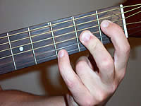 Guitar Chord A7b5 Voicing 1