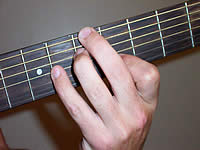 Guitar Chord A7b5 Voicing 2