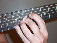 Guitar Chord A7b5 Voicing 3