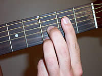 Guitar Chord A7b9 Voicing 1