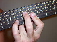 Guitar Chord A7b9 Voicing 3