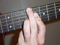Guitar Chord A7b9 Voicing 4