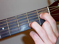 Guitar Chord A7#11 Voicing 1