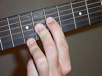 Guitar Chord A7#11 Voicing 3