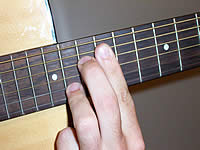Guitar Chord A7#11 Voicing 5