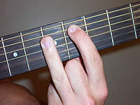 Guitar Chord A7#9 Voicing 2