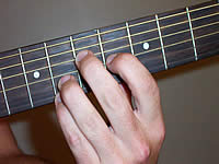 Guitar Chord A7#9 Voicing 3