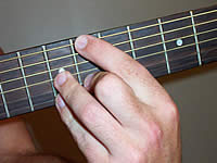 Guitar Chord A7#9 Voicing 4