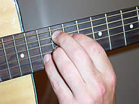 Guitar Chord A7#9 Voicing 5