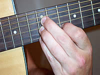 Guitar Chord A7sus4 Voicing 4