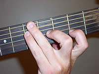 Guitar Chord A9 Voicing 2
