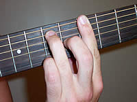 Guitar Chord A9 Voicing 3
