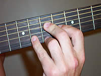 Guitar Chord A9 Voicing 4