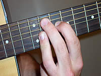 Guitar Chord A9 Voicing 5