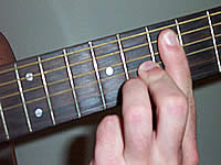 Guitar Chord A9#11 Voicing 5