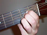 Guitar Chord A Voicing 1
