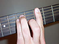 Guitar Chord A Voicing 2