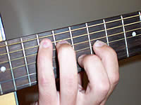 Guitar Chord A Voicing 4