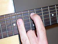 Guitar Chord A Voicing 5