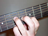 Guitar Chord Aadd9 Voicing 2
