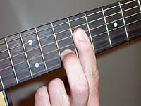 Guitar Chord Aadd9 Voicing 3