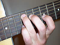 Guitar Chord Aadd9 Voicing 4