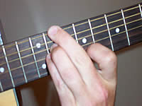 Guitar Chord Ab7sus4 Voicing 4