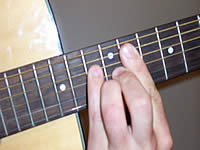 Guitar Chord Abm(maj7) Voicing 5