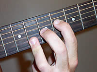 Guitar Chord Abmaj7#11 Voicing 3