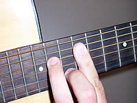 Guitar Chord Am7 Voicing 5
