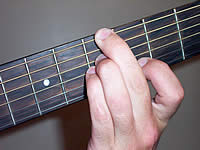 Guitar Chord Am7b5 Voicing 2